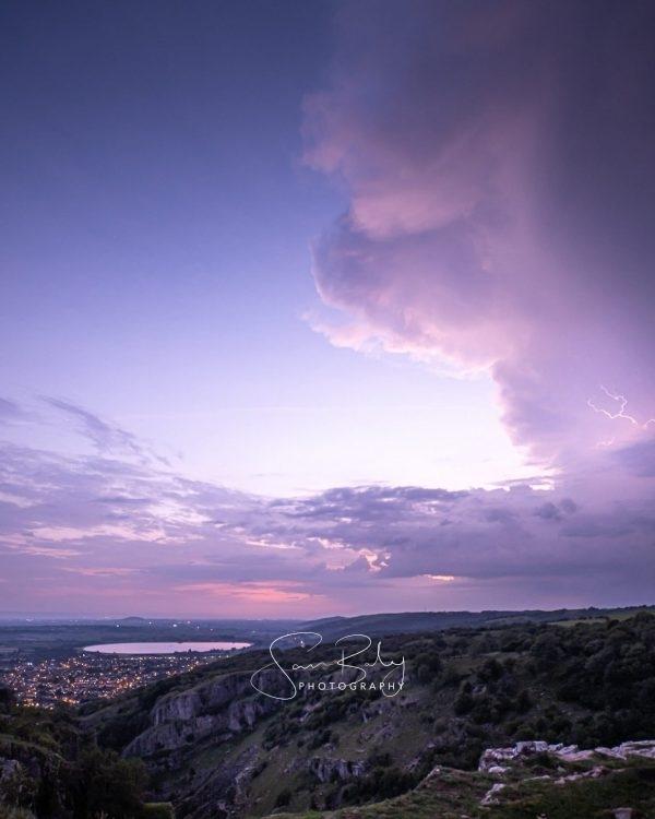 Cheddar Gorge Storm 4