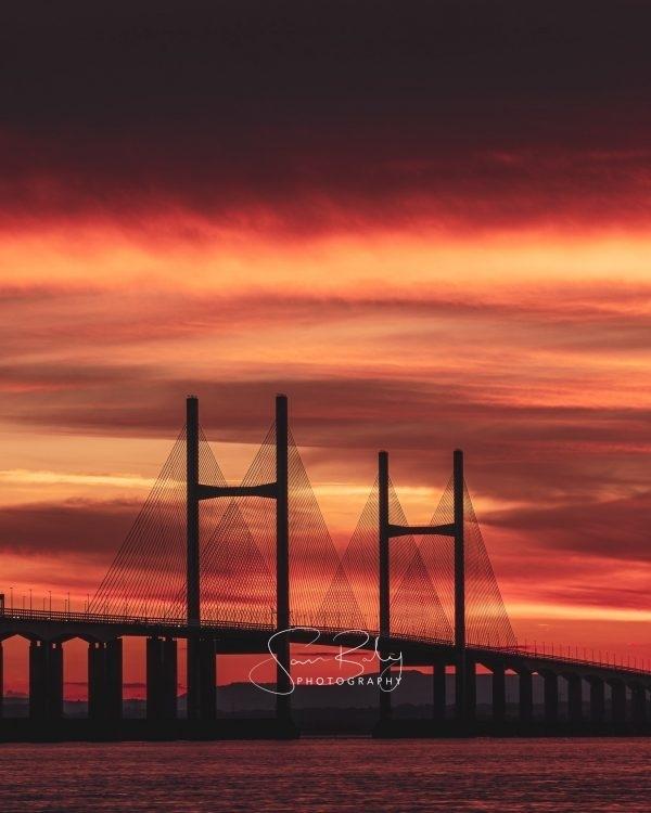 Prince of Wales Bridge Sunset 1
