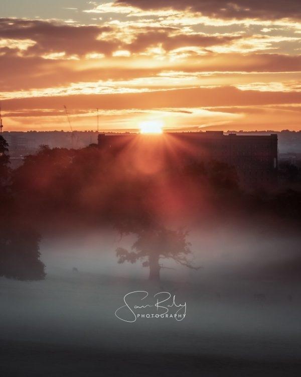 Misty Bristol Sunrise 2